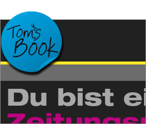 Webseite Toms Book